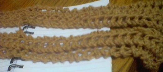 Turn Knit Scarf Into Belt A Long Thin Knit Scarf